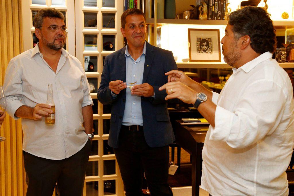 Paulo Plutarco, Ricardo Barillo E Leandro Vasquez