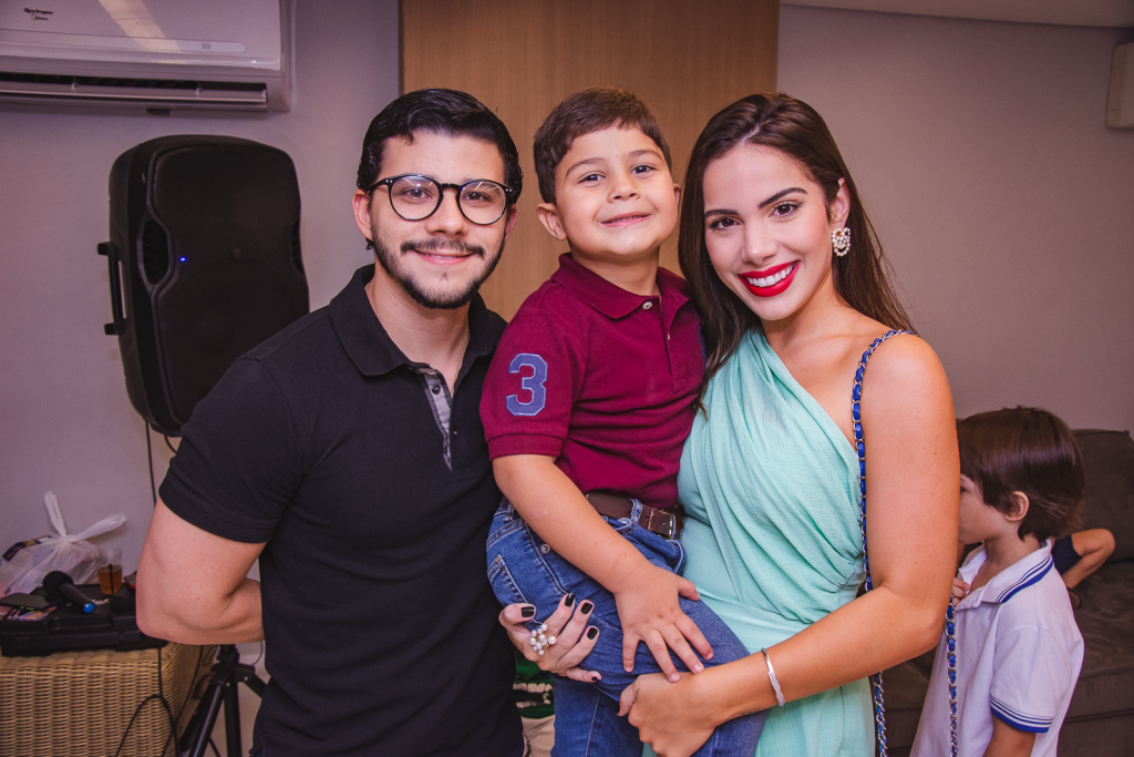 Pedro Paulo Negrao, Pompeuzinho Vasconcelos E Nicole Vasconcelos