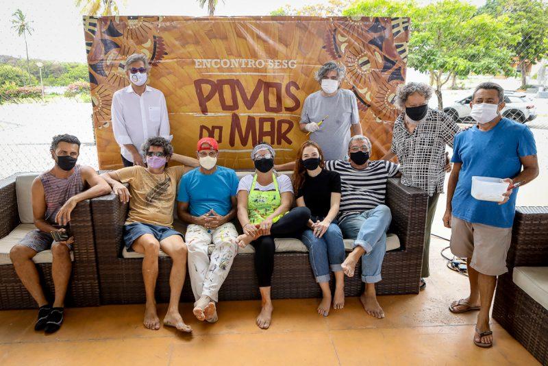 Coletiva Aquavelas - Sistema Fecomércio promove encontro com artistas no Sesc Iparana