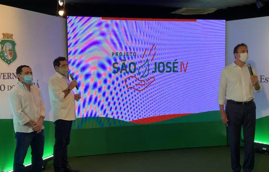 Camilo Santana lança Projeto São José IV com recursos totais de R$ 800 milhões