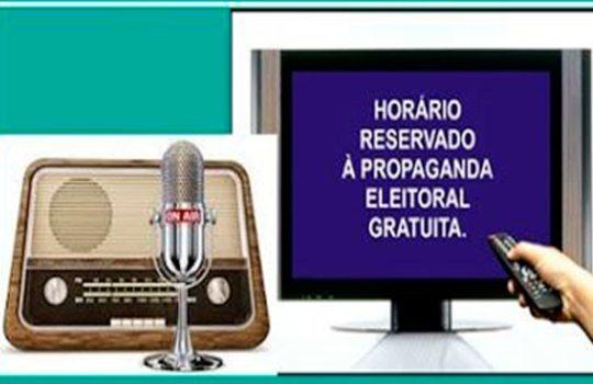 Propaganda eleitoral em rádio e televisão deverá ser encerrada nesta sexta-feira