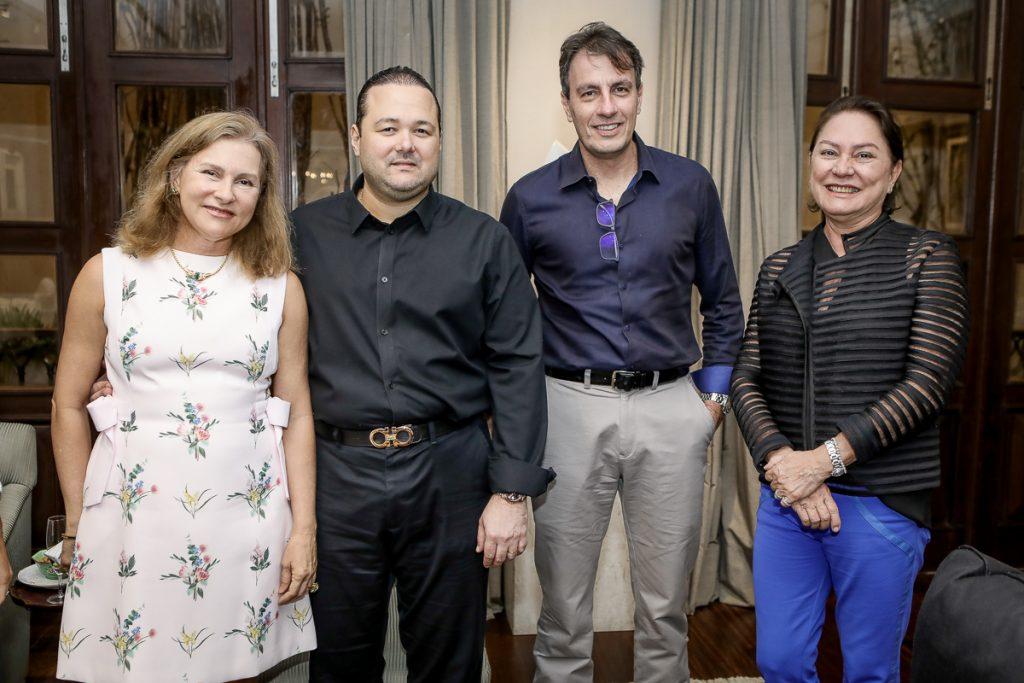 Renata Jereissati, Otavio Queiroz, Carlos Rotella E Paula Frota