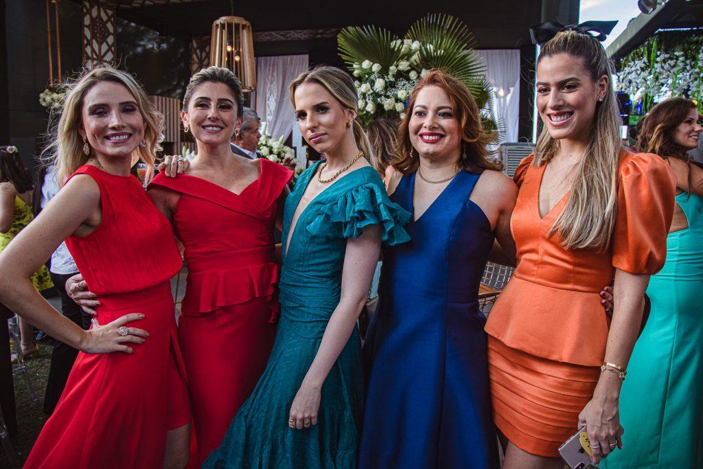 Renata Viana, Juliana Barreto, Isabella Albuquerque, Manuela Viana E Sarah Albuquerque