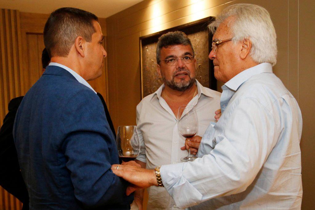 Ricardo Barillo, Paulo Plutarco E Carlos Feitosa
