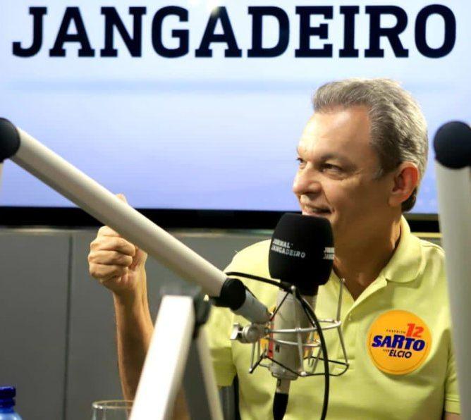 Sarto reafirma a parceria com Camilo, e os compromissos com saúde e educação