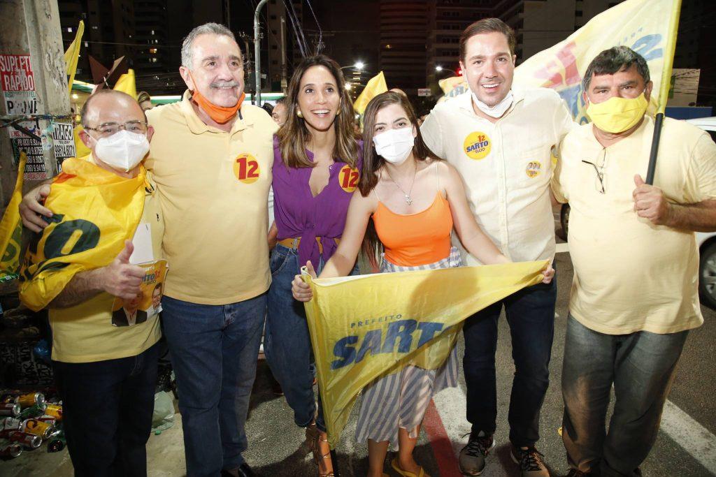 Sergio Aguiar Bismarck Maia, Nadia Bismarck, Lidia Protasio, Eduardo Bismarck E Jose Braga Barroso