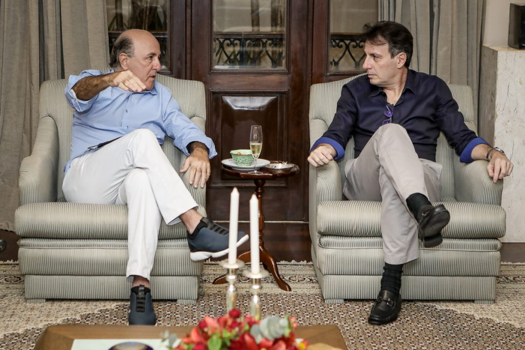 Silvio Frota E Carlos Rotella
