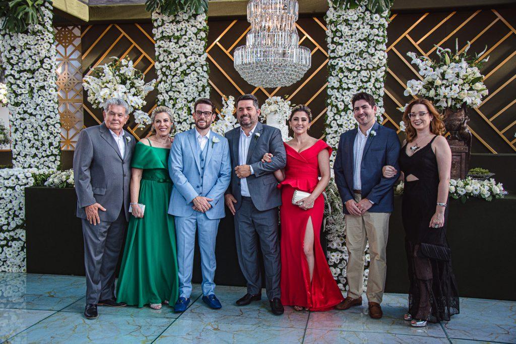 Stenival Bezerra, Sonia Bezerra, Felipe Bezerra, Wilson Barreto, Juliana Barreto, Rodrigo Bezerra E Barbara Leao