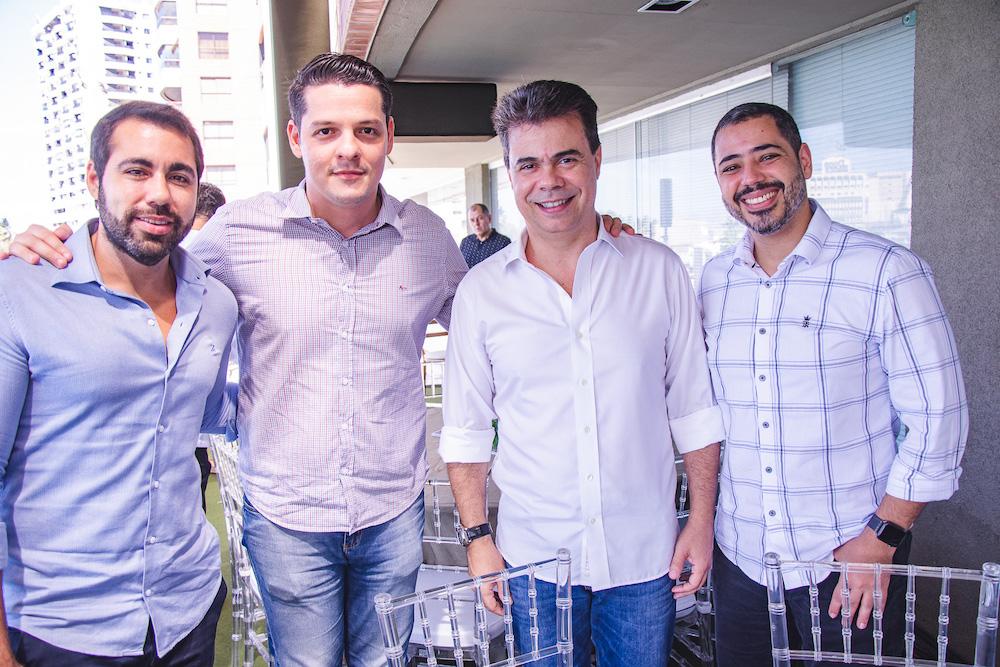 Thiago Peixoto, Saulo Parente, Duda Brigido E Paulo Victor