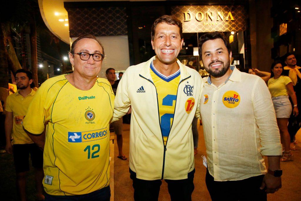 Tin Gomes, Gony Arruda E Anderson Palacio