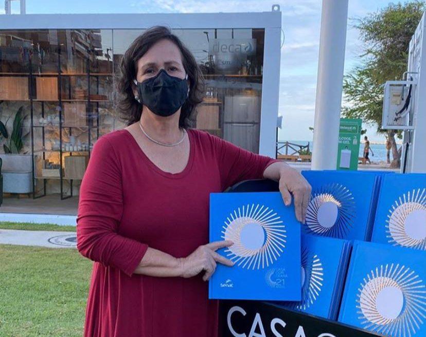 Neuma Figueiredo apresenta os detalhes da 22ª edição da CasaCor Ceará nesta terça-feira (3)