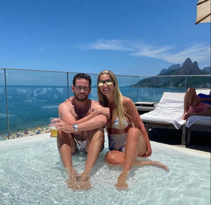Felipe Bezerra e Mariana Dafonte elegem o Rio de Janeiro para temporada de lua de mel