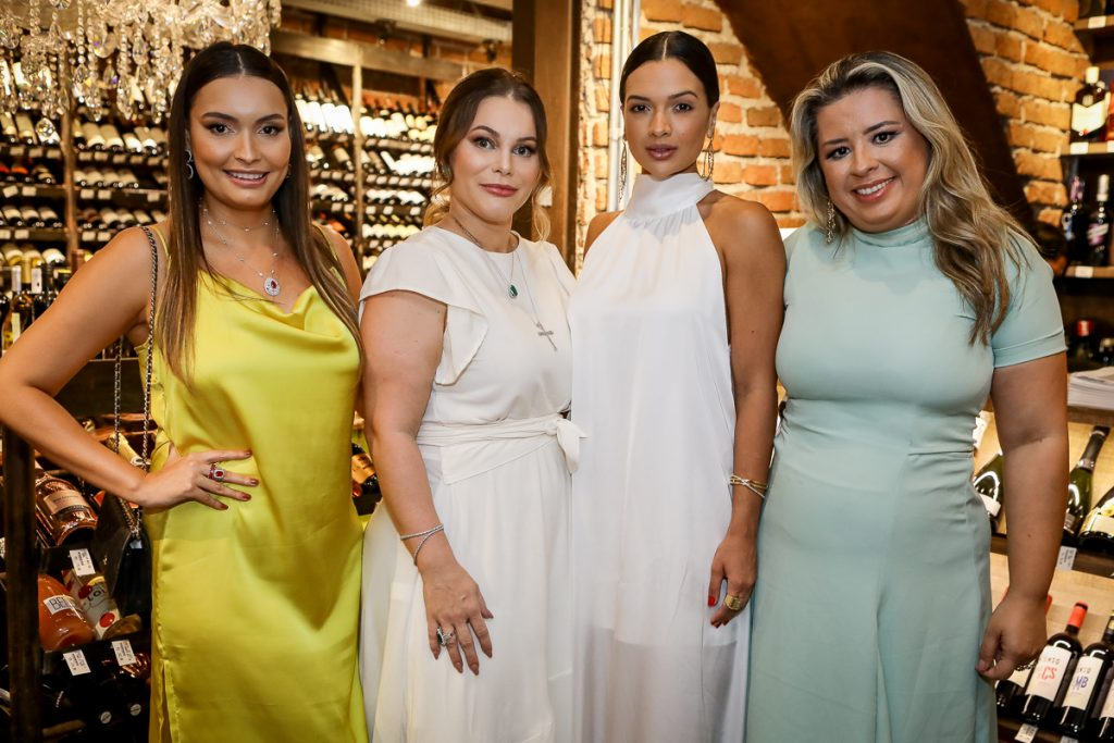 Zaira Rocha, Ana Max, Tamylle Oliveira E Camila Ximenes