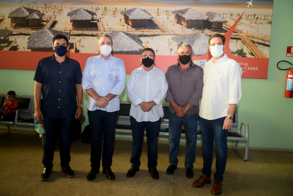 Augusto Neto, Bismarck Maia, Ailton Dantas, Sebastião Uchôa E Eduardo Bismarck