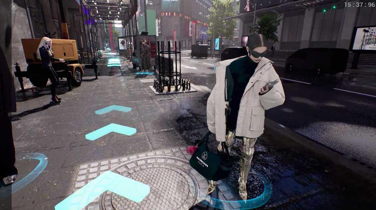 Balenciaga apresenta nova coleção através de videogame