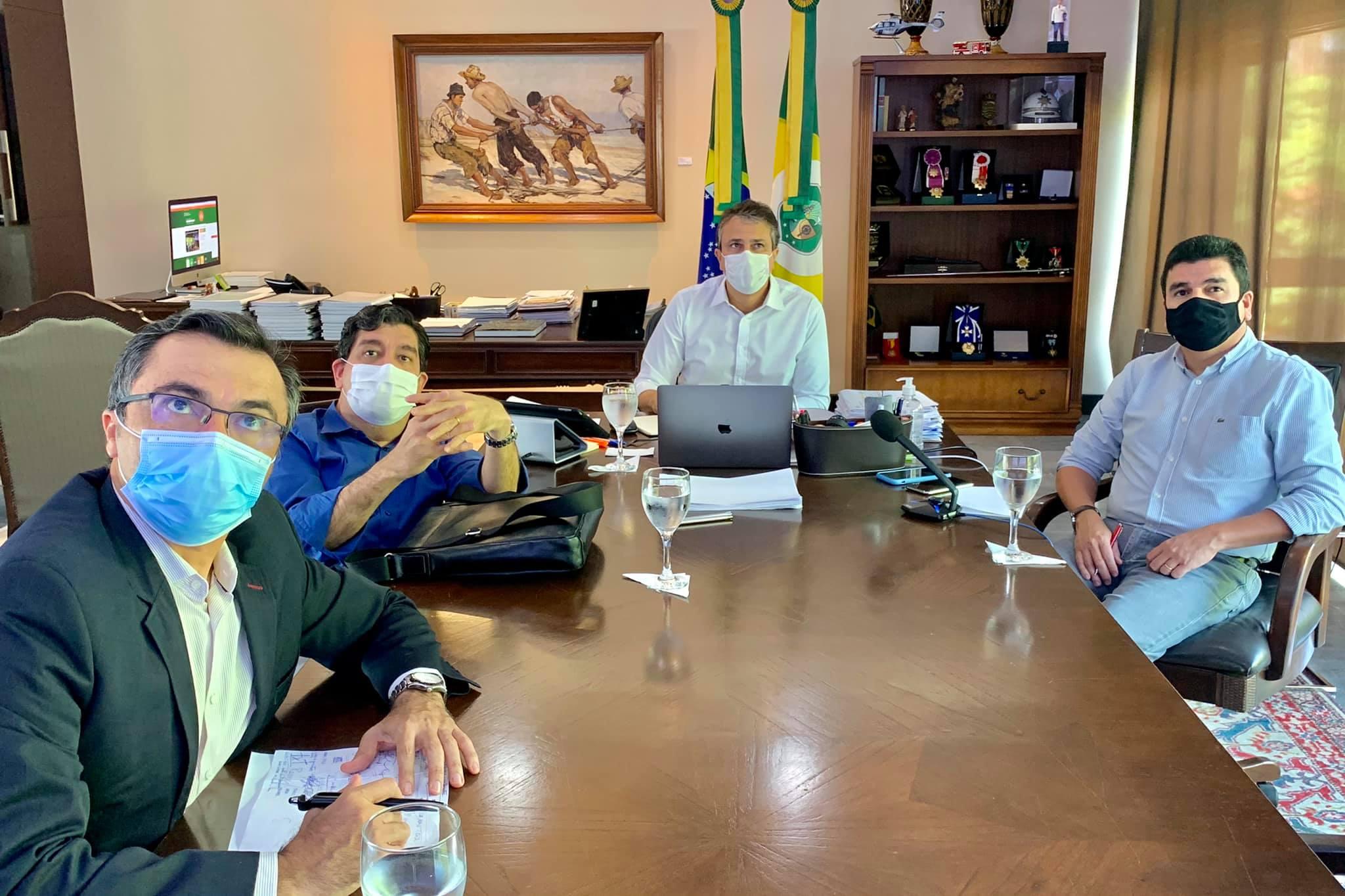 Camilo Santana mantém decreto sem alterações e pede que a população mantenha os cuidados preventivos