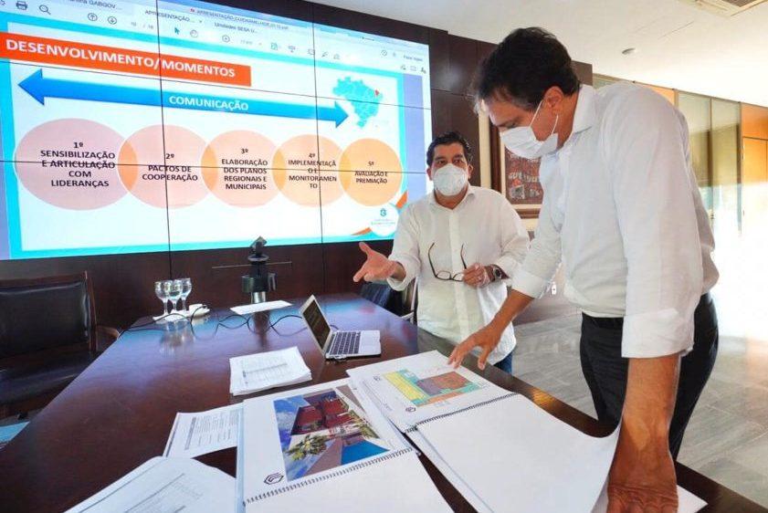 Camilo destaca que rede estadual de saúde vai receber novos investimentos