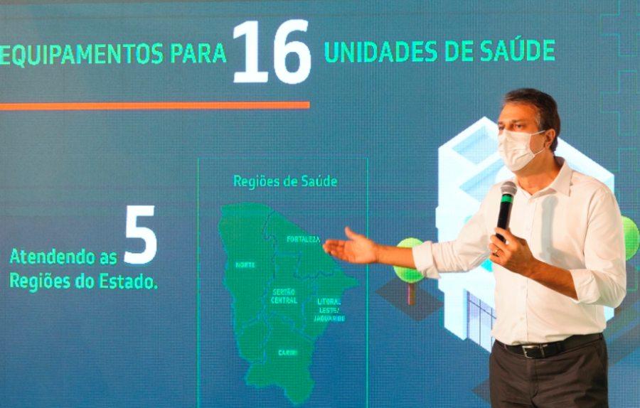 Camilo anuncia investimento de R$ 20 mi em equipamentos para a área de saúde