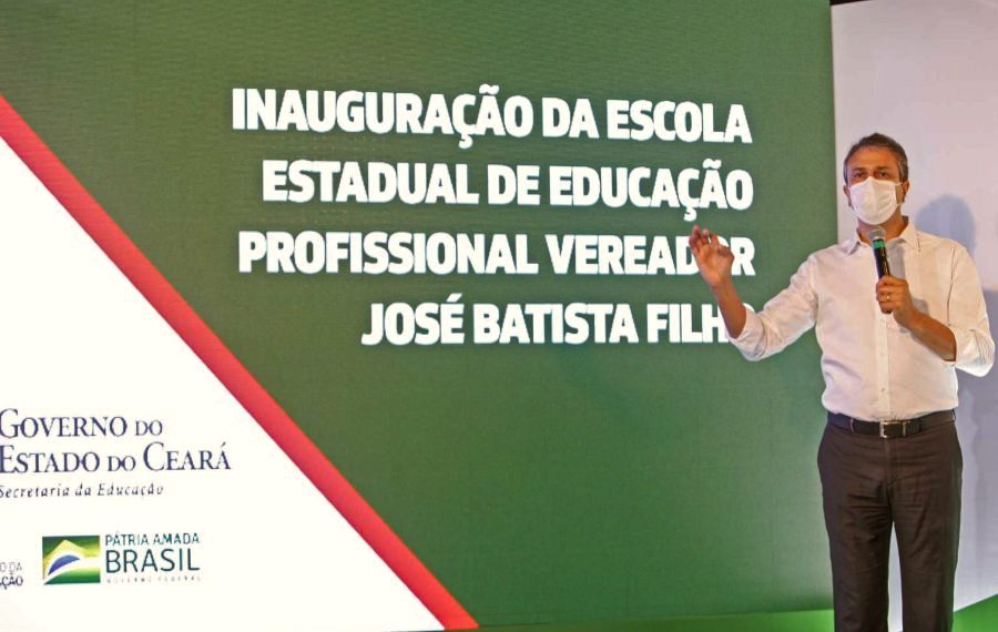 Camilo Santana inaugura a 122ª escola de ensino profissionalizante no Ceará