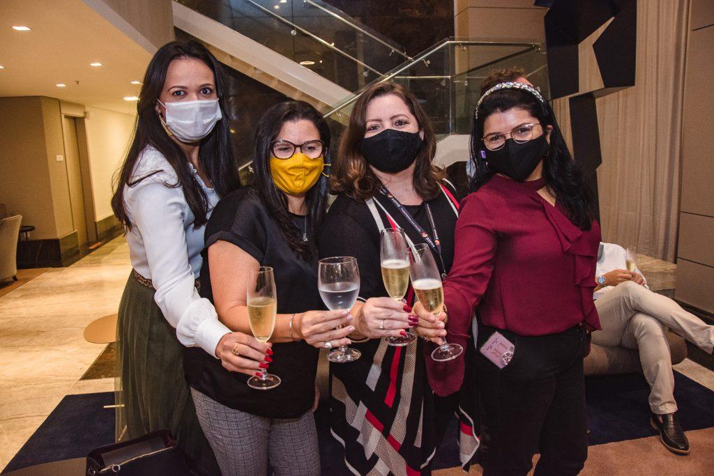 Carolina Pontes, Patricia Pacheco, Atena Rabelo E Lina Reiss