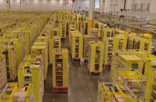 Amazon anuncia que pretende ingressar, logo, no mercado de logística no Brasil