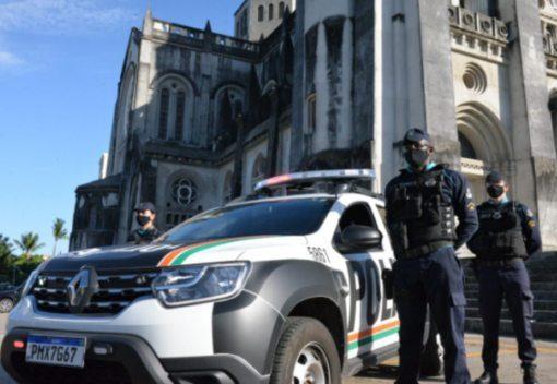 PM reforça policiamento no Centro para garantir segurança às compras de Natal