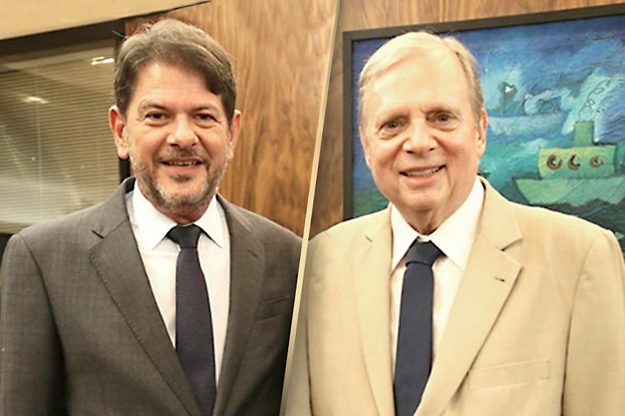 Tasso Jereissati e Cid Gomes comemoram a garantia da integridade dos recursos do Fundeb para a educação pública