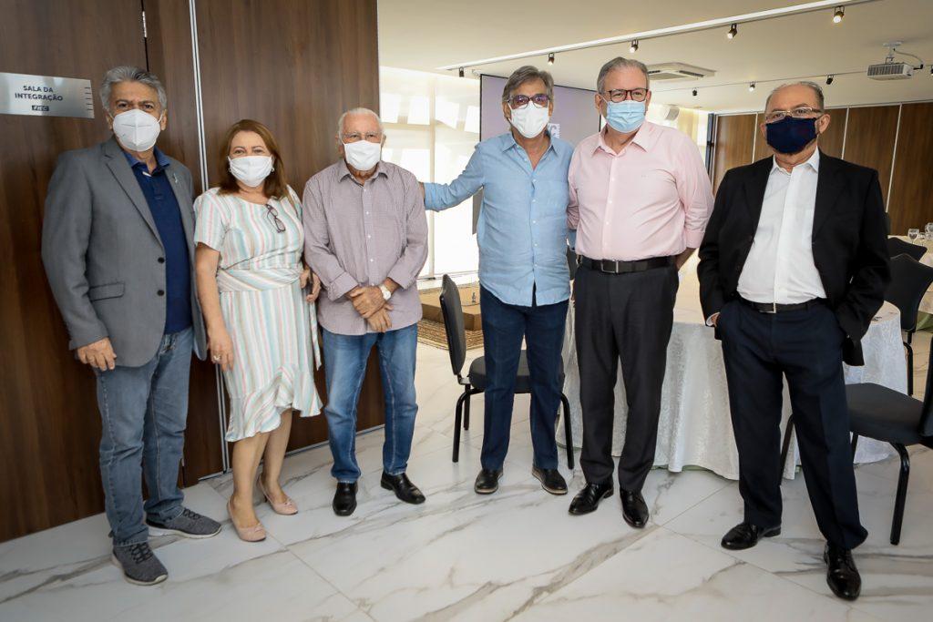 Clovis Bezerra, Talvanir Mota, Chico Barreto, Cid Alves, Ricardo Cavalcante E Julio Cavalcante