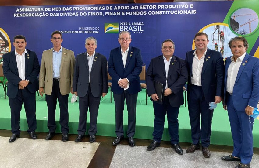 Presidente Ricardo Cavalcante celebra a renegociação de quase R$ 60 bilhões em dívidas do setor produtivo junto à União