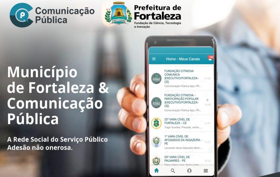 Prefeitura de Fortaleza lança novo canal de comunicação com a população