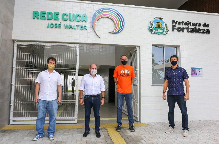 Roberto Cláudio entrega novo Cuca para ampliar a formação cultural e inclusão social por meio do esporte e cursos