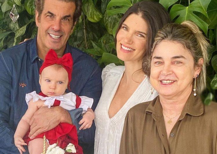 Mêsversário - Lou Montenegro e Álvaro Garnero celebram os cinco meses de Luma