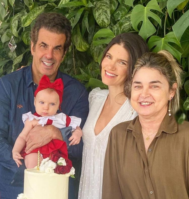 Lou Montenegro e Álvaro Garnero celebram os cinco meses de Luma