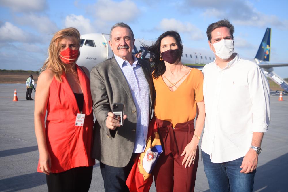 Denise Menezes, Bismarck Maia, Glaucia Maia E Eduardo Bismarck (2)