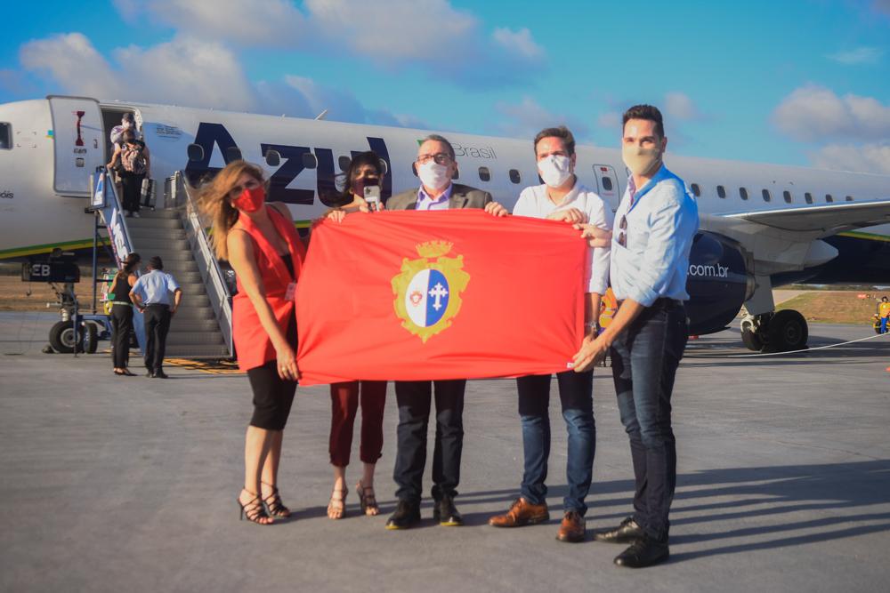 Prefeito Bismarck Maia inaugura a rota São Paulo – Aracati