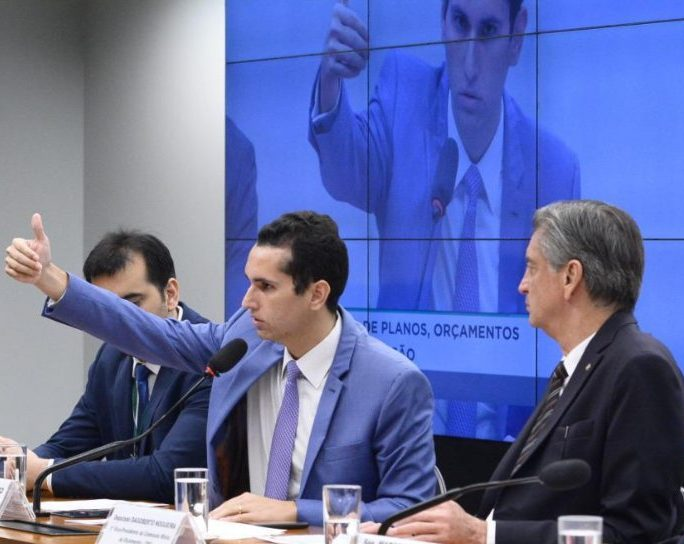 Deputado Domingos Neto eleito como integrante da lista Elite Parlamentar