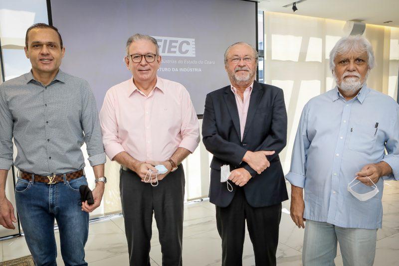 Eduardo Diogo, Ricardo Cavalcante, Candido Albuquerque E Joaquim Cartaxo (1)