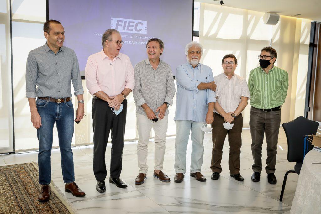 Eduardo Diogo, Ricardo Cavalcante, Mauricio Filizola, Joaquim Cartaxo, Alcir Porto E Airtom Gonsalves