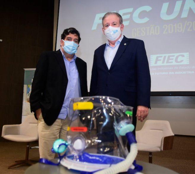 Esmaltec inicia a produção em escala industrial do capacete hiperbárico Elmo