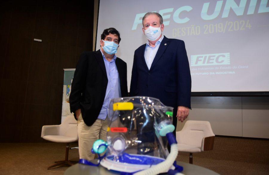 FIEC realizará a doação de 250 capacetes Elmos para uso pelo Governo do Ceará