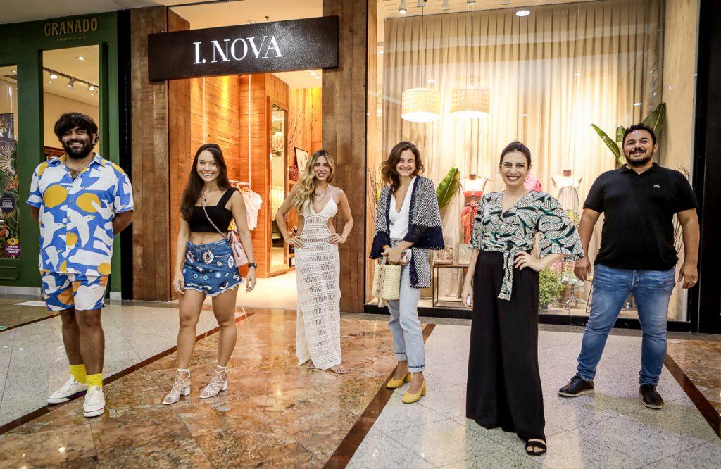 Gabriel Baquit, Nara Nogueira, Alix Pinho, Celina Hissa, Nathalia Nogueira E Clecio Nascimento (2)