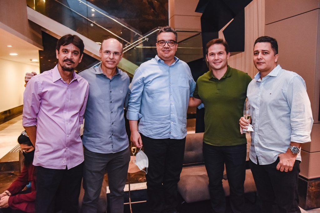 Ivan Teixeira, Savio Barreira, Ticiano Rego, Fabio Albuquerque E Romulo Vasconcelos