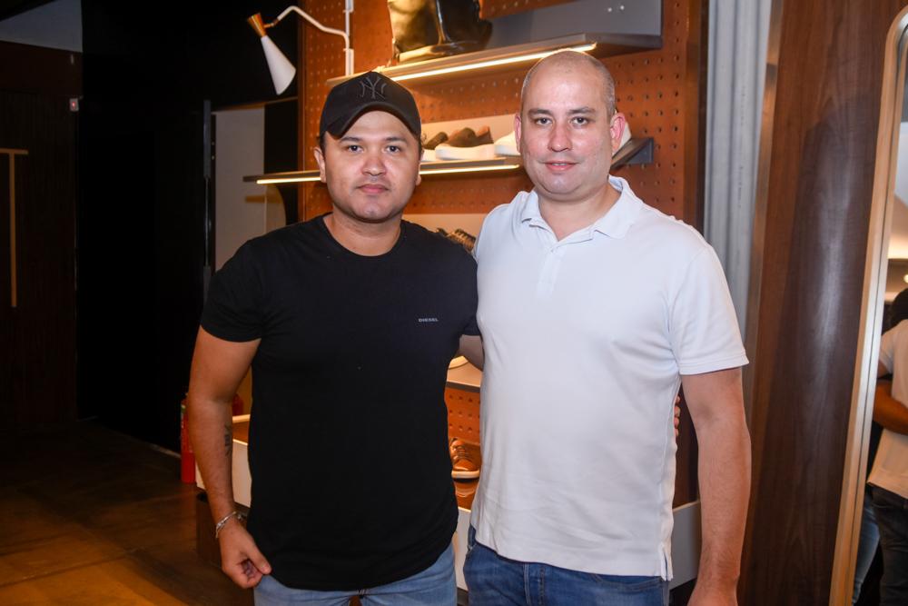 Jhonatan Rêgo recebe convidados seletos no lançamento da nova coleção da Homem do Sapato