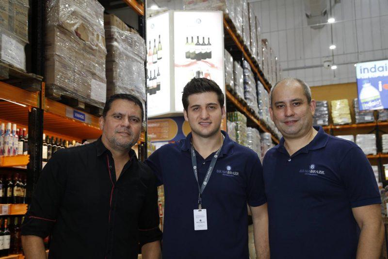 Jose Roberto, Omar Macedo E Andre Linheiro