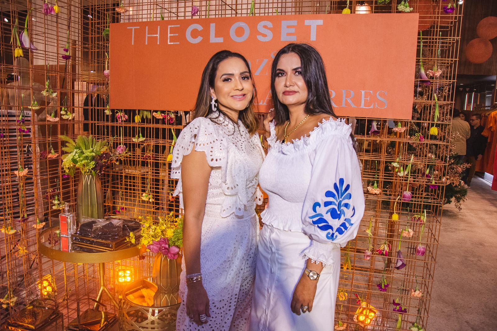 Kátia Targino e Marília Borges pilotam a inauguração de mais uma loja The Closet em Fortaleza