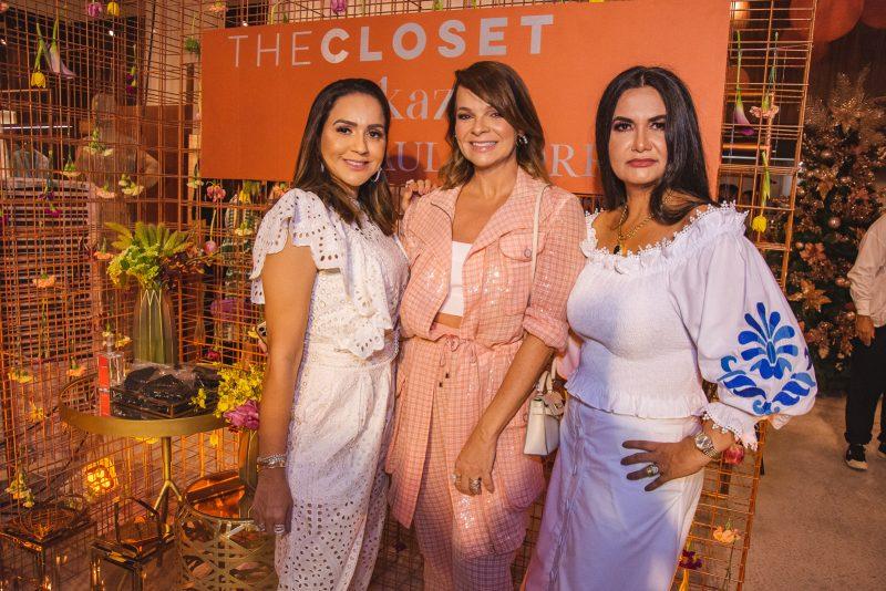 Expandindo os negócios - Kátia Targino e Marília Borges pilotam a inauguração de mais uma loja The Closet em Fortaleza