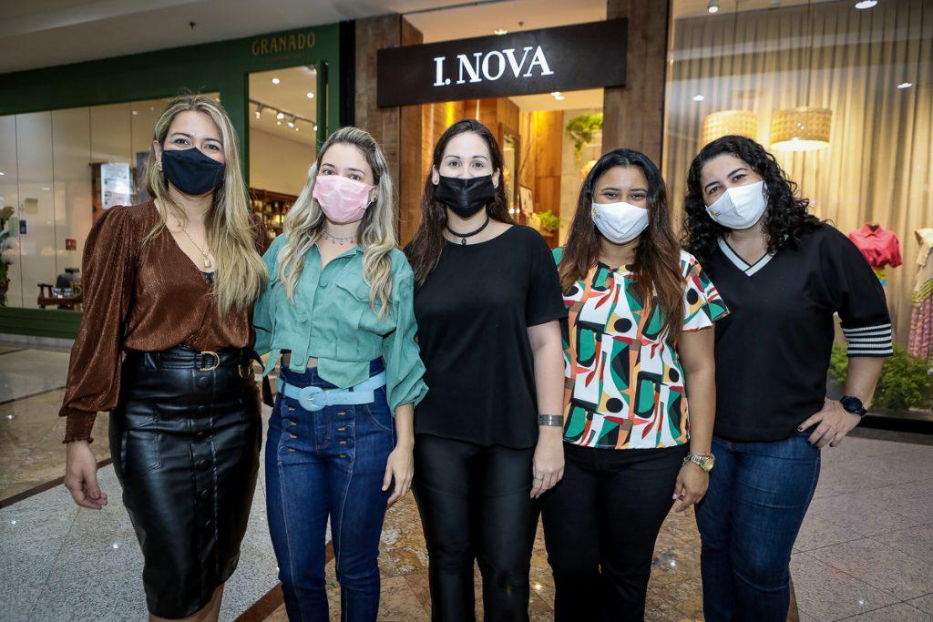 Laura Dantas, Jenifra Vieira, Karen Melo, Jamile Lima E Aline Nobre (1)