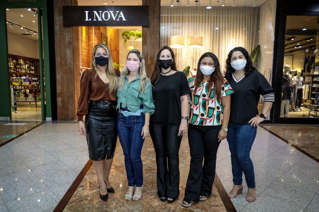 Laura Dantas, Jenifra Vieira, Karen Melo, Jamile Lima E Aline Nobre (2)