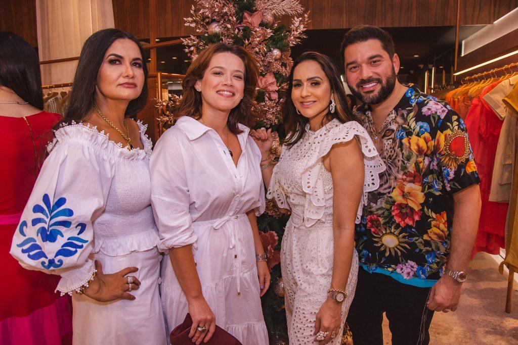 Marilia Lopes, Anik Mourao, Katia Targino E Marco Abreu