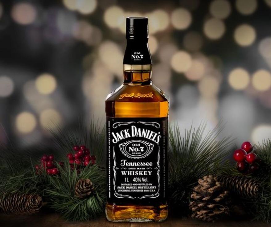 Jack Daniel's desenvolve embalagem especial para o fim de ano